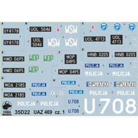 ToRo 1:35 UAZ 469 w Polsce cz.1