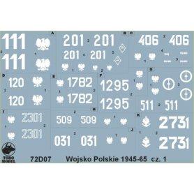 ToRo 1:72 Wojsko Polskie 1945-65 cz.1