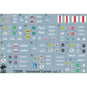 ToRo 1:72 Universal Carrier w polskiej służ.