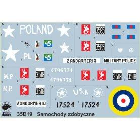 ToRo 1:35 Pojazdy zdobyczne Wojsku Polskim