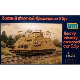 Unimodels 256 HEAVY INFANTRY ARMORED CAR