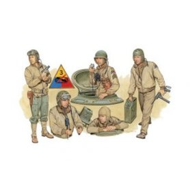 DRAGON 6054 USTANK CREW 1944 1/35