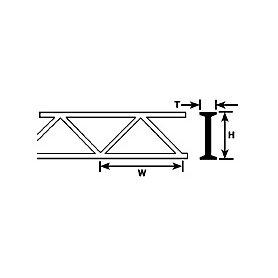 PLASTRUCT 90652 KRAT. 4.8 x 6.4 x 2.4 x 150 * 2 O