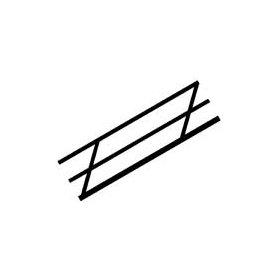 PLASTRUCT 90691 PORĘCZE 6.4 x 11.1 N x 130 * 2