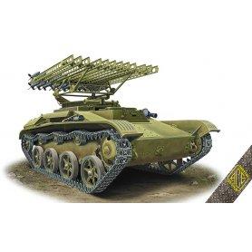 ACE 72542 BM-8-24 Katiusha on T-60 chassie
