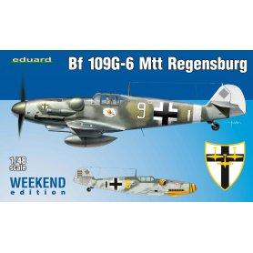 Eduard 1:48 Messerschmitt Bf-109 G-6 MTT Regensburg WEEKEND edition [brak zdjęcia]