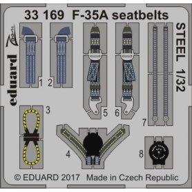 Eduard 1:32 Pasy bezpieczeństwa do F-35A dla Italeri   STEEL  