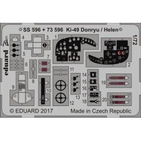 Eduard 1:72 Nakajima Ki-49 Donryu / Helen dla Hasegawa