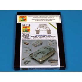 ABER UPGRADE SET 1:35 Pz.Kpfw.VI King Tiger wieża Henschel