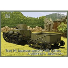 IBG 72045 Type 94 Japanese tankette with 2trailers