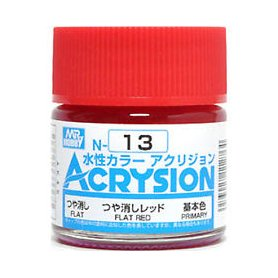 Mr. Acrysion N013 Flat Red