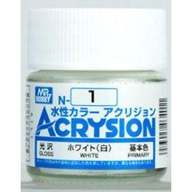 Mr. Acrysion N001 White