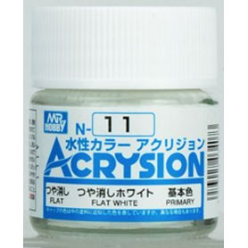Mr. Acrysion N011 Flat White