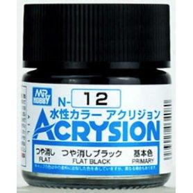 Mr. Acrysion N012 Flat Black