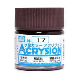 Mr. Acrysion N017 Hull Red