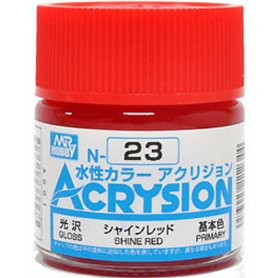 Mr. Acrysion N023 Shine Red