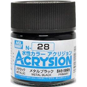 Mr. Acrysion N028 Metal Black