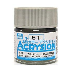 Mr. Acrysion N051 Light Gull Gray