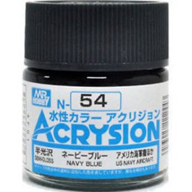 Mr. Acrysion N054 Navy Blue