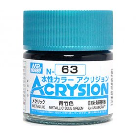 Mr. Acrysion N063 Metallic Blue Green