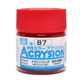 Mr. Acrysion N087 Mettallic Red