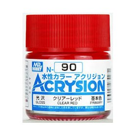 Mr. Acrysion N090 Clear Red