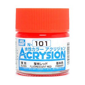 Mr. Acrysion N101 Fluorescent Red