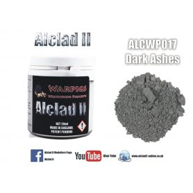 Alclad Wp017 Dark Ashes Grey Pigment