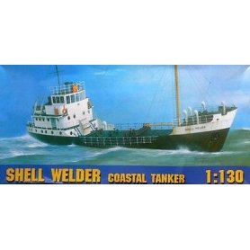 Chematic Model Shell Welder Coastal Tanker 1/130