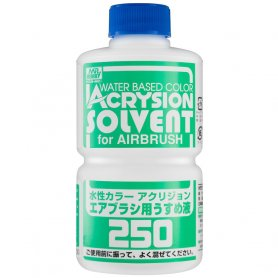 Gunze T-314 Acrysion Solvent for Airbrush 250 ml