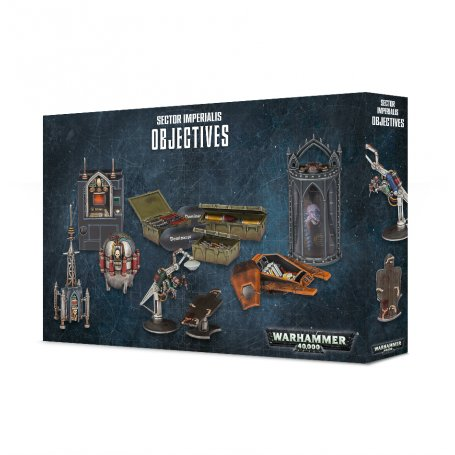 WARHAMMER 40.000 SECTOR IMPERIALIS: OBJECTIVES