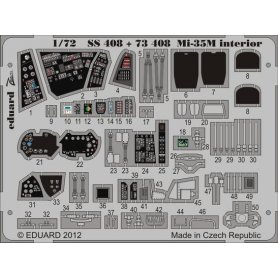 EDUARD 1:72 SS408 MI-35M INTERIOR - ZVEZDA