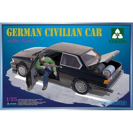 Takom 2005 German Civilian Car w/Gas Rockets