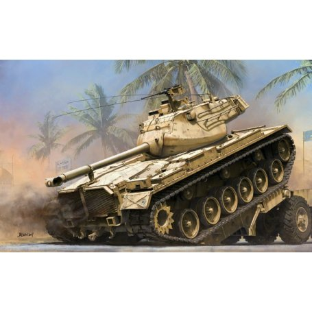 Takom 2072 US Medium tank M47 E/M ( 2-1 )