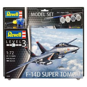 MODEL SET 172 63960 F-14D SUPER TOM