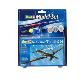 MODEL SET 172 63981 FOCKE WULF TA 1