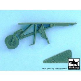 Black Dog 1:32 Zestaw dodatków do Focke-Wulf Fw-190 D-9 dla Hasegawa