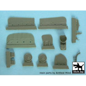 Black Dog Albatros D.I &amp D.II detail set for Gavia 4815 &amp Eduard 8082