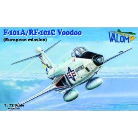 Valom 72119 F-101A/RF-101C Wodoo Eur.mission