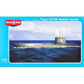 Mikromir 350-018 U-boat XVIIB