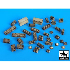 Black Dog 1:35 British equipment accessories set