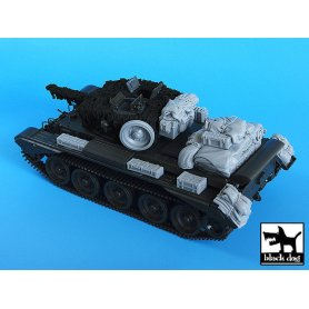 Black Dog Cromwell accessories set for Tamiya