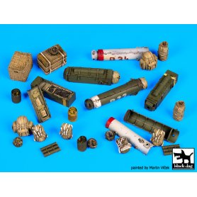 Black Dog British paratrooper equipment accessories set