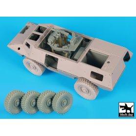 Black Dog M1117 Gurdian interior + wheels accessories set