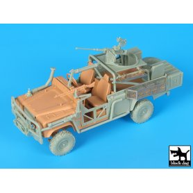 Black Dog Land Rover Australian spec.forces accessories set for Hobby Boss