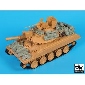 Black Dog M 551 Sheridan Gulf War accessories set for Academy
