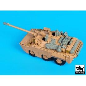 Black Dog AMX 10 RCR Separ accessories set for Tiger-Model