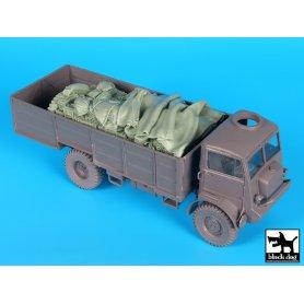 Black Dog Bedford QLT troop carrier accessories set for IBG Models