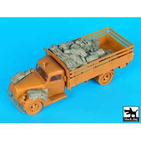 Black Dog German army truck G917 T accessories set for ICM