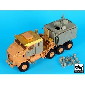 Black Dog M 1070 Gun truck conversion set for Hobby Boss